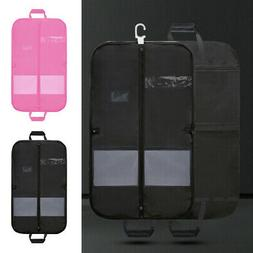 Foldable Zipper Travel Garment Suits Bag Cloth Coat Storage