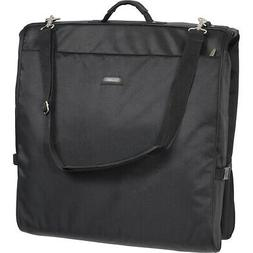 Wally Bags 45in. Framed Garment Bag with Shoulder Strap