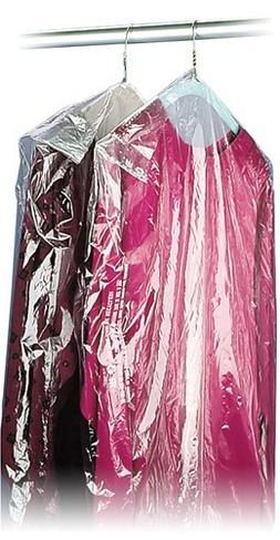 """Interplas GAR-54 Clear Dry Cleaning Bags, 54"""" Length, 21"""" Wi"""