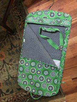 Vera Bradley Garment Bag, Cupcake Pattern, Green and Navy, N