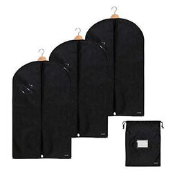 Bruce. 3 x Premium Garment Bag incl. Shoe Bag | 39.4 x 23.6