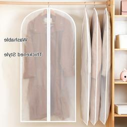 Garment Bag Storage Protector Plastic Clear Dust-proof Cloth