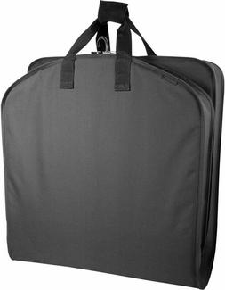 WallyBags Garment Bag with Handles 40 inch, Black