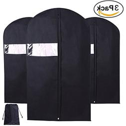 CHACCA Garment Bag, Garment Bags with Full Zipper Small Clea
