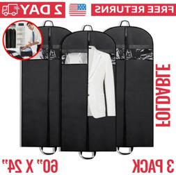 Garment Bags Clothes Suit Dress Hanging Travel Dust Cover St