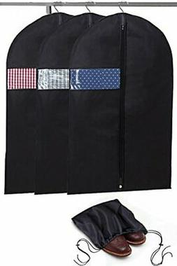 Garment Bags with Shoe Bag - Breathable Garment Bag Covers S