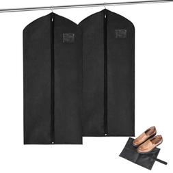 MaidMAX Set of 2 Garment Bags with Full Length Zipper and a