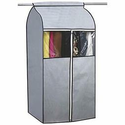 Garment Covers Bag Organizer Storage With Clear PVC Windows