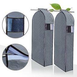 Garment Protector Cover, Josphine's Home 2PCs Dust Resistant