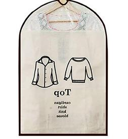 Hudiefly Garment Storage Bags for Outerwear Jackets, Dress,