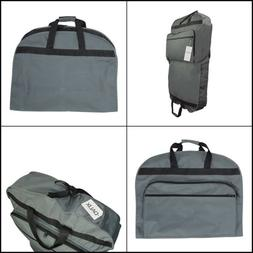 Garment Suit Travel Bag Grey Business Pockets for Dresses Cl