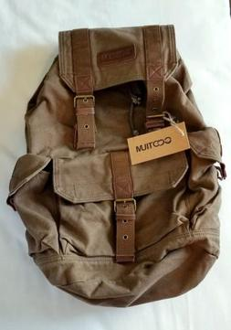 Gootium 21101CF Specially High Density Thick Canvas Backpack