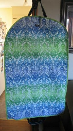 SCOUT GREEN BLUE AND WHITE GARMENT BAG NWT