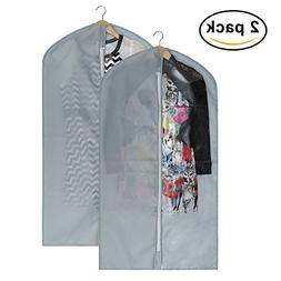 Mobo Grey Garment Bags for Luggage, Dresses, Linens, Gown St