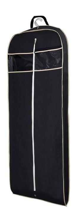 "Gusseted 60"" Suit Dress Garment Bag with Clear Window Zipper"