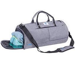 NORDSHIELD Gym Duffle Bag Travel Weekender Carry On Luggage