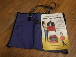 hangeroo zipsak purple 2 in 1 garment
