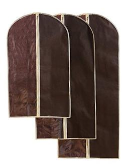 Hanging Garment Bag - Travel Zippered Storage Bag - For Suit