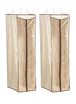 STORAGE MANIAC Hanging Garment Bag Cover with Visible Window