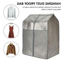 Hanging Garment Bag Dust-Proof Non-woven Fabric Clothes Cove