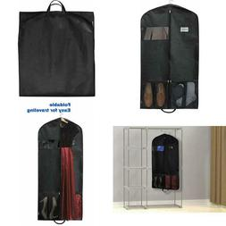 Hanging Garment Bag Large Hang Up Clothes Travel Cover Carri