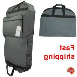 Hanging Garment Bag Travel Large Suit Carry On Clothes Long