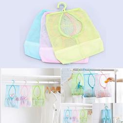 Hanging Polyester Mesh Bag Kitchen Wall Organizer Garbage Ba