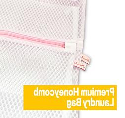 Dearjana Set of 2 Honeycomb Mesh Laundry Bags - 2 Jumbo XX-L