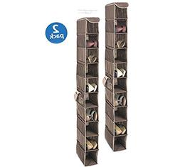 Whitmor 6351-1229-Java Java Hanging Shoe Shelves