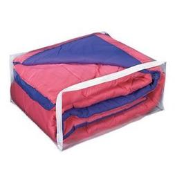 Jumbo Comforter Clothes Storage Bag - Heavy Duty Vinyl
