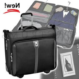 "London Fog Knightsbridge 44"" Wheeled Garment Bag Style #7339"