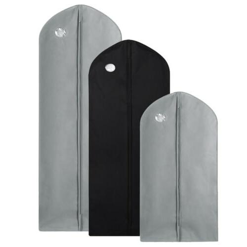 1/5 Garment Bag Suit Storage Cover Dress Clothes Coat Dustpr