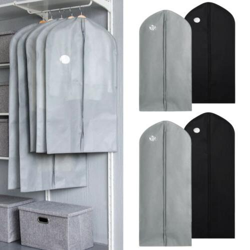 10x Garment Bag Suit Storage Cover Dress Coat Clothes Travel