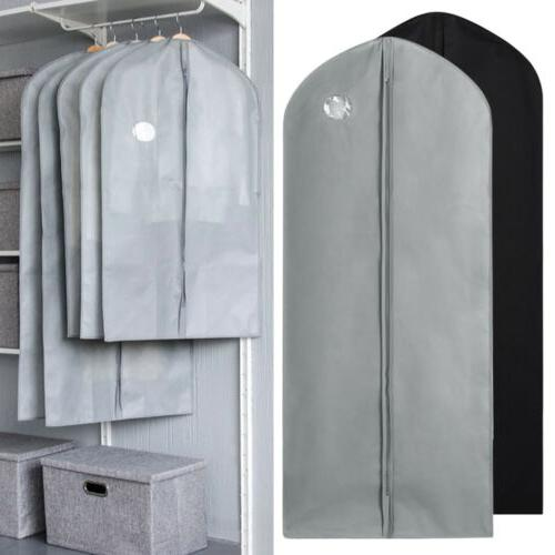 "59"" Garment Bag for Suit Dress Storage Cover Wardrobe Hangin"
