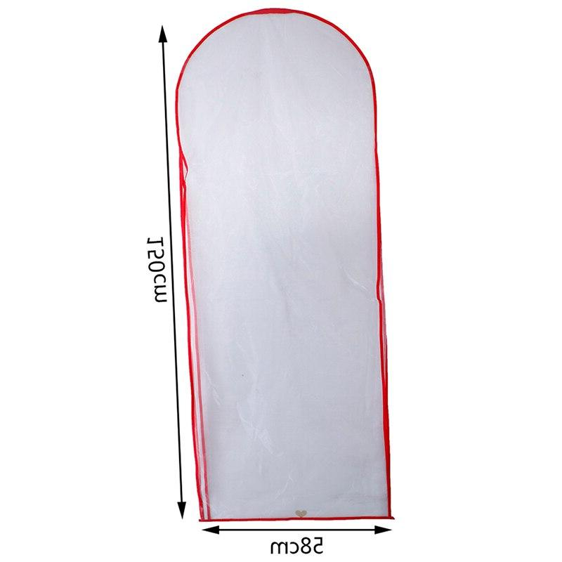 180cm/150cm Wedding Cover <font><b>Garment</b></font> Protector Case Dust Covers Dresses Dust