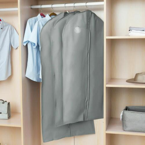 Garment Bag Suit Cover Dress Clothes Coat for Travel Storage
