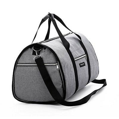 2 in 1 Travel Garment Carry On Suit Outdoor Duffel Large