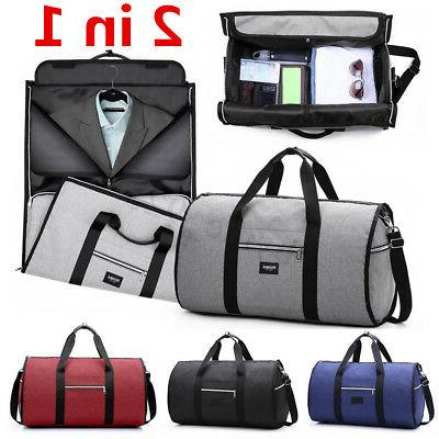 2 in 1 business travel garment bag