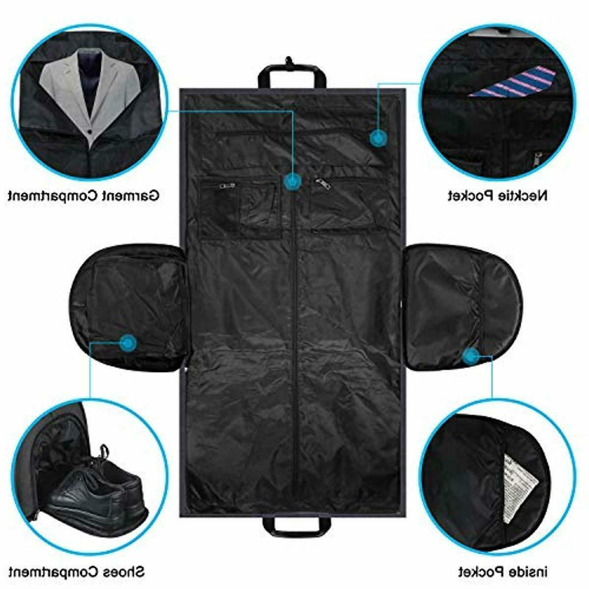 2 in 1 Travel Bag Convertible Suit Compartment