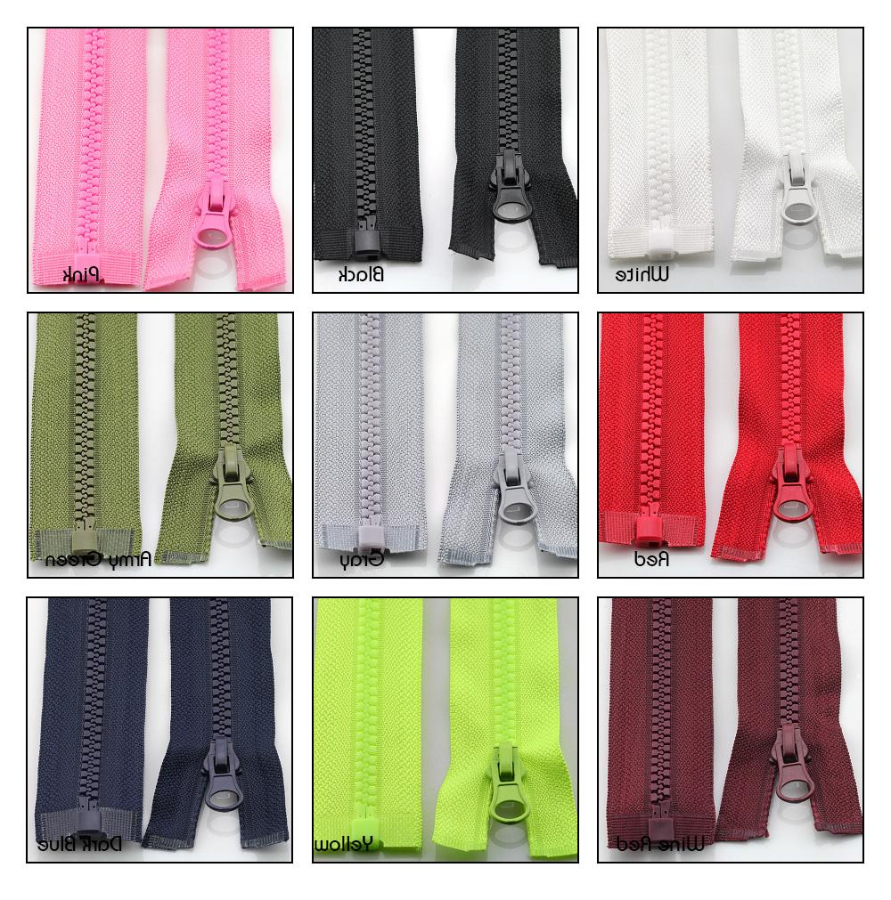 2pcs/lot No.3 open zippers kids for clothes inch for <font><b>bags</b></font>