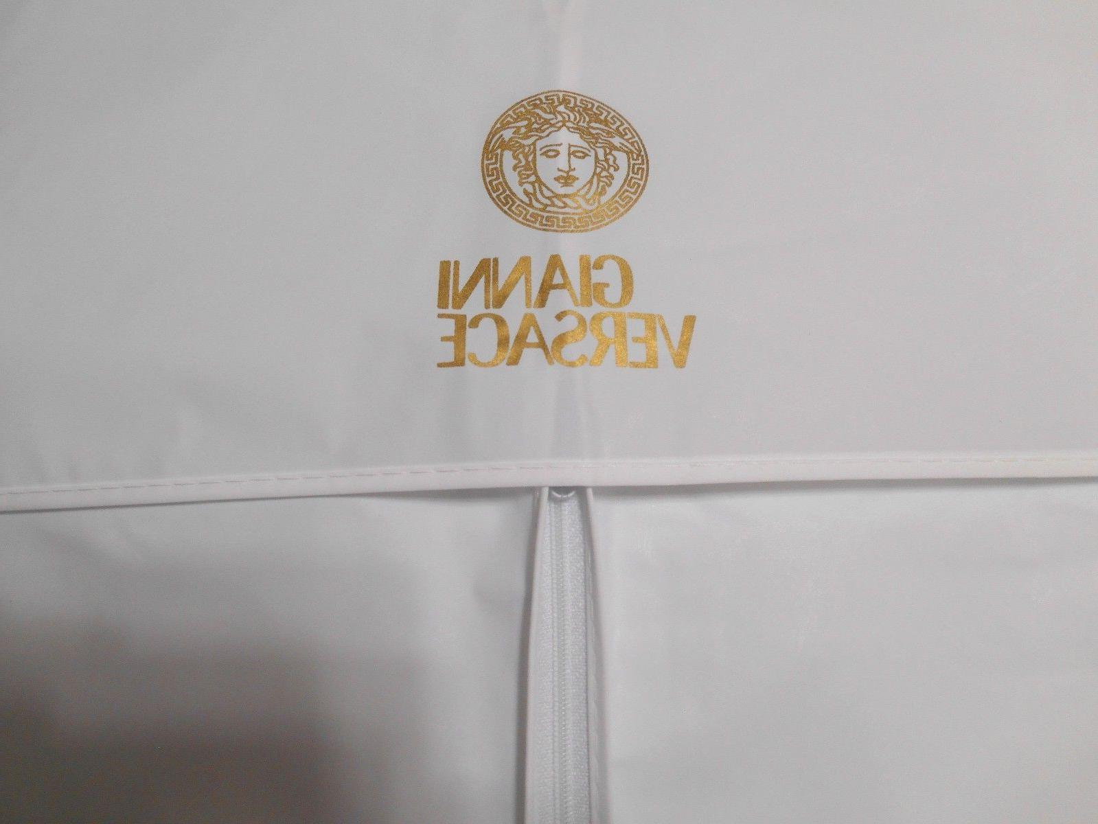 """3 VERSACE White 22""""x38"""" for Suit Travel Storage -NEW"""
