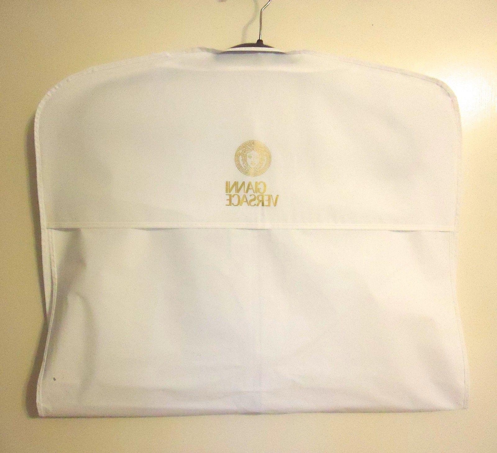 """3 White 22""""x38"""" for Suit Travel or Storage -NEW"""