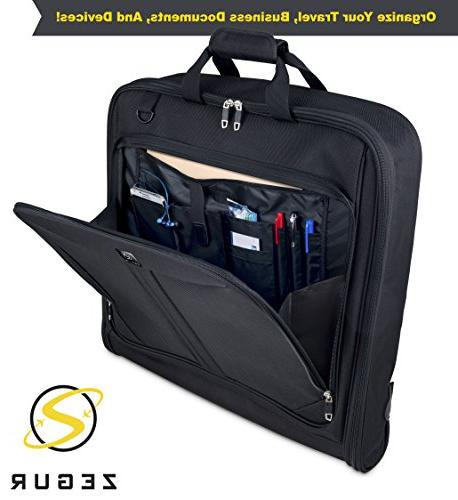 ZEGUR Suit Carry Garment for Travel & Business Trips With Shoulder