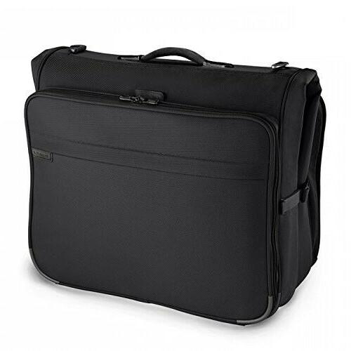Briggs and Riley 370 Deluxe Garment Bag Black