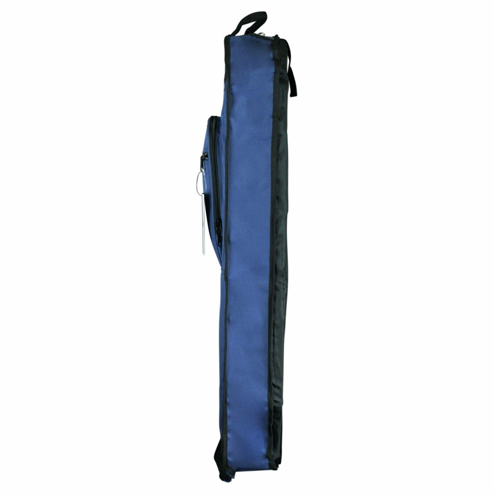 "39"" Garment Cover Suits Clothing Foldable Pockets Navy"