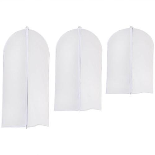 3Pc Covers Jacket Suits Garment Bag Protector