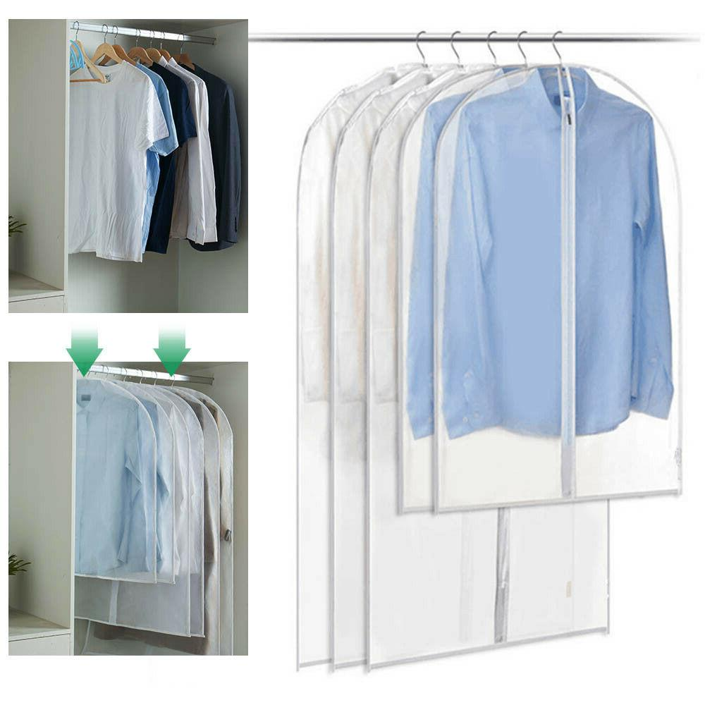3pc closet dust proof cloth covers jacket