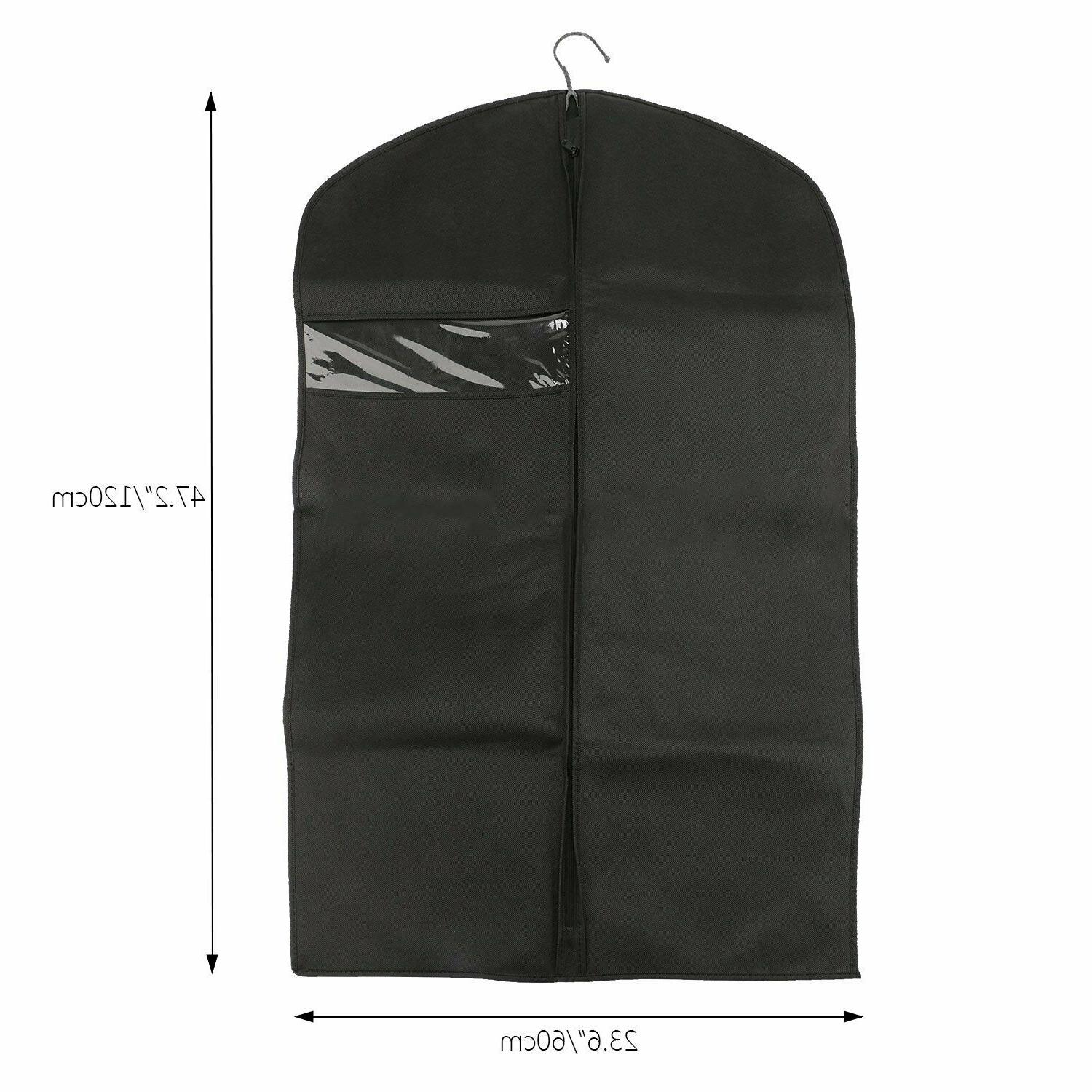 2adc2cce2d21 5 PCS Breathable Suit Travel Garment Bag Covers
