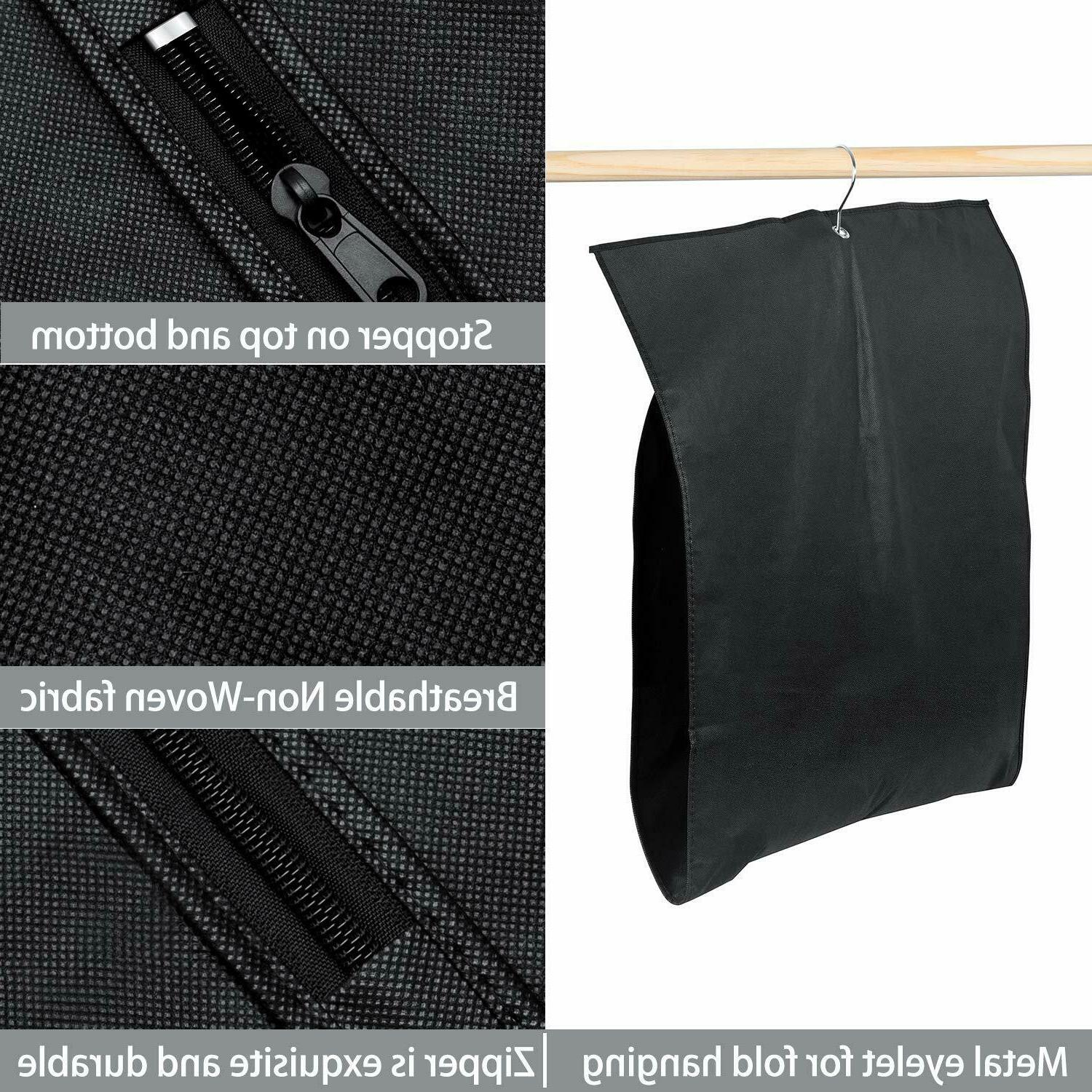 5 Breathable Travel Garment Bag Covers Storage