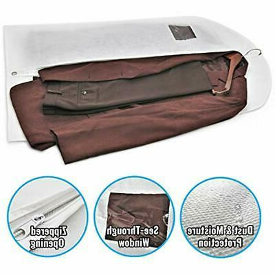 40&quot Garment Bags For Clothing Suits, With